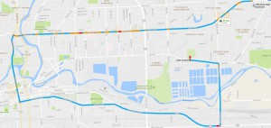 Funeral Procession Route